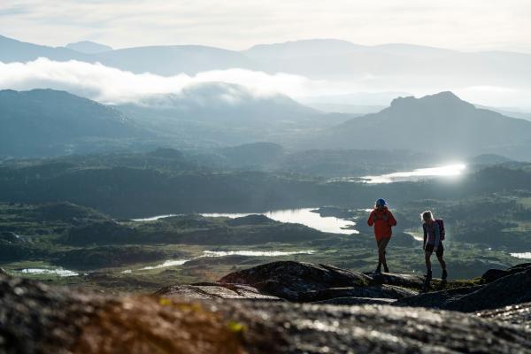 ... et d'héli-randonnée en été. © Mattias Fredriksson