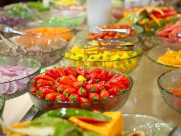 Poivrons à l'israélienne servis lors des repas de shabbat.  © Flickr CC Israel Tourism