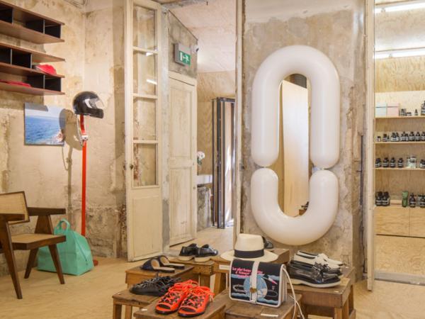 Le concept-store JOGGING prend place dans une ancienne boucherie de la rue Paradis © OlivierAmsellem