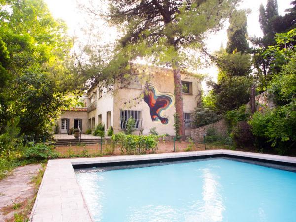 La piscine pour les expérimentations des artistes ou pour une baignade  ©VillaAlliv