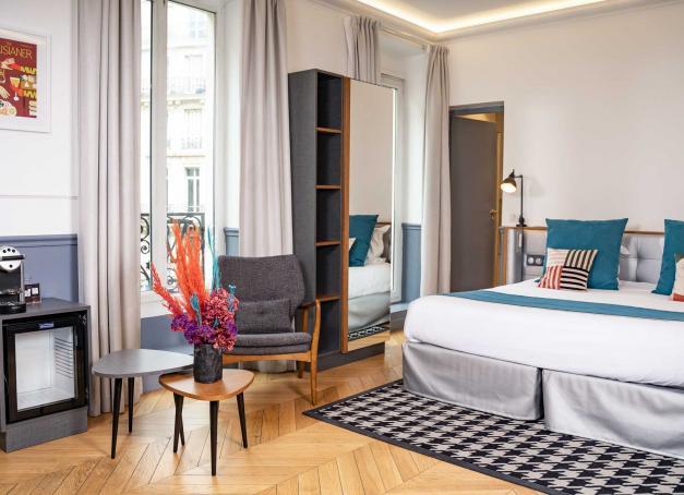 Quels sont les meilleurs hôtels des Grands Boulevards à Paris ? À cheval sur les 2e, 3e, 9e et 10e arrondissements, le quartier est l'un des plus dynamiques de la capitale, regorgeant d'adresses branchées, de spots gourmands ou de salles de spectacle.