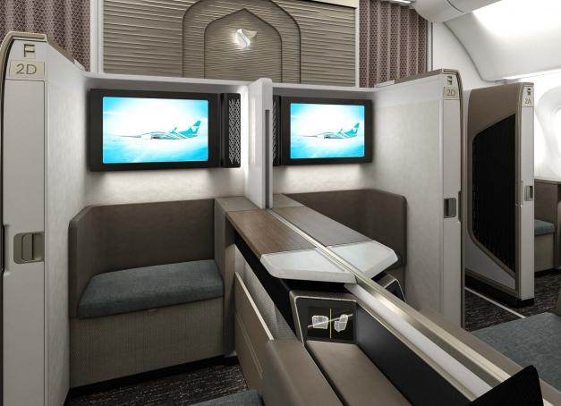 À l'occasion de Arabian Travel Market qui s'est tenu cette semaine à Dubaï, la prestigieuse compagnie Oman Air a dévoilé la nouvelle - et très luxueuse - « Mini Suite First Class » de sa flotte Dreamliner 787-9. Les images en avant-première.
